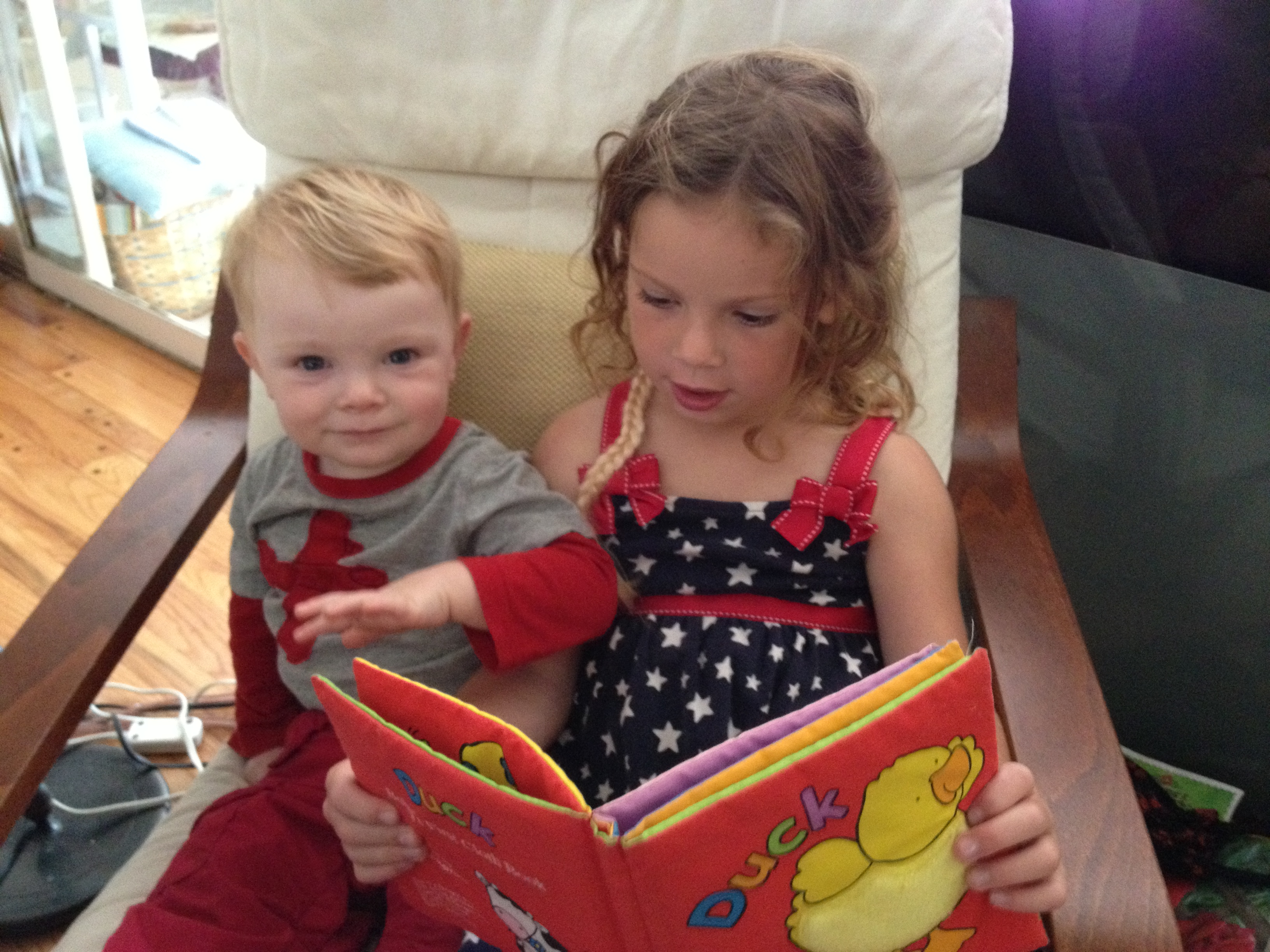 CH reading to N2