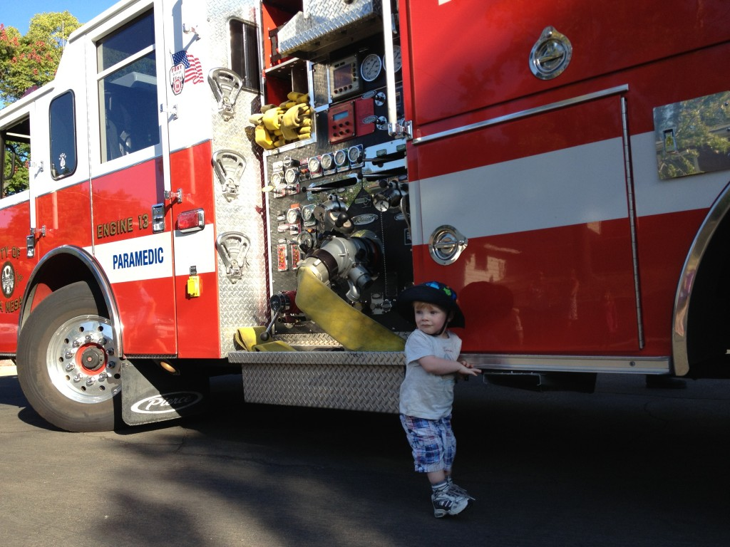 Number Two and firetruck 2