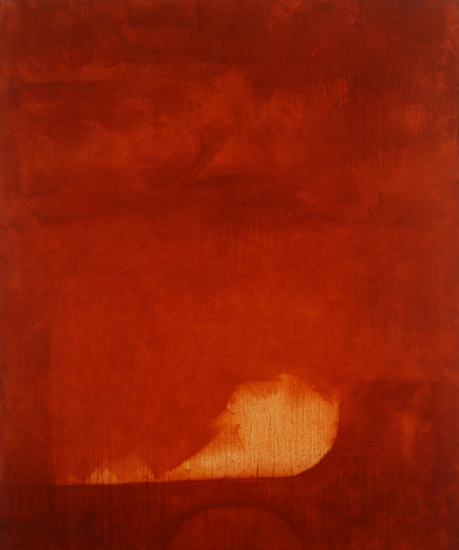 Red iron oxide dawn