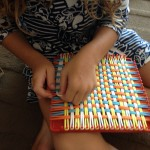 Small fingers weaving