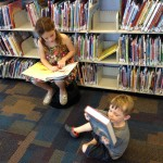 CH and N2 reading at library