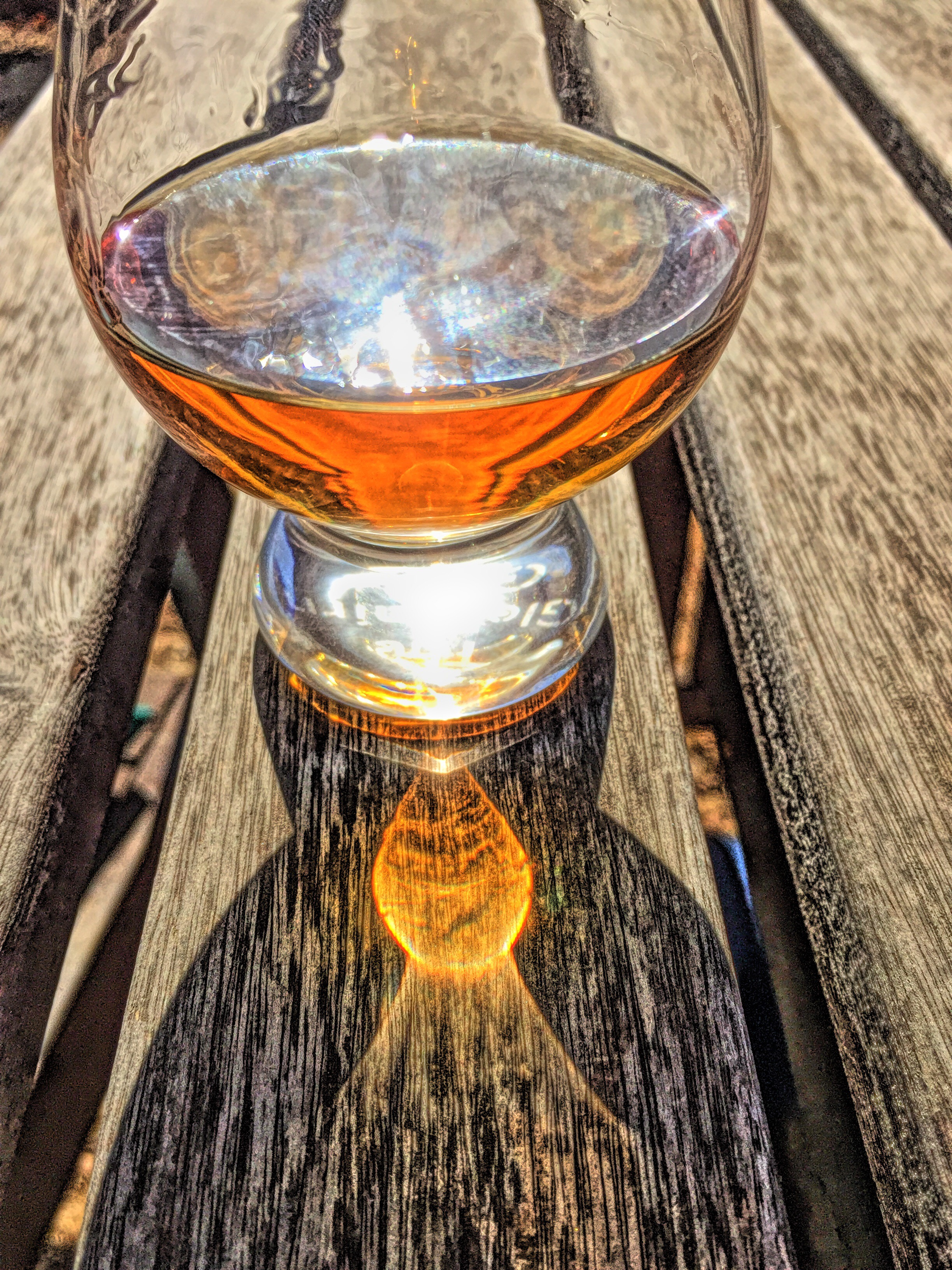 Whiskey refraction